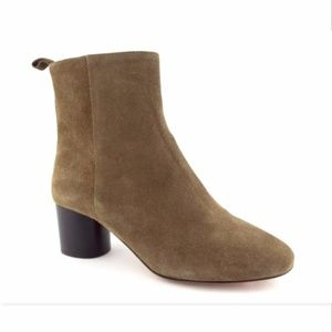 New ISABEL MARANT ETOILE Moss Taupe Bootie 38